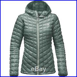 The North Face ThermoBall Hoodie Women's (Large, Balsam Green)