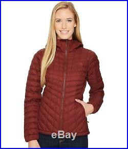 The North Face Thermoball Hoodie Sequoia Red Matte Women's size L $220