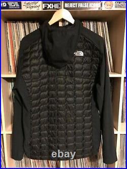 The North Face Thermoball Hybrid Hoodie Jacket Medium Black Bnwt Zipped Hooded