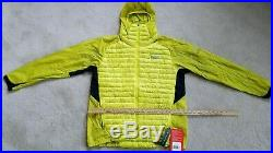 The North Face Verto Sulphur Micro Hoodie 800 Pro Summit Down Jacket XL NWT $249