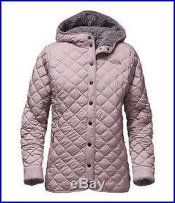 The North Face W's Thermoball Fur Hoodie Jacket Quail Grey