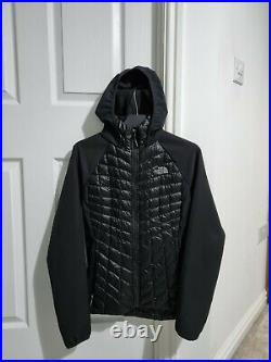 The North Face Women Hybrid Thermoball Winter Jacket Hoodie Size S Bust 33-35