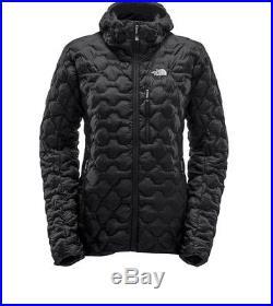 The North Face Women Summit Series L4 Down Hoodie Jacket In Black Medium