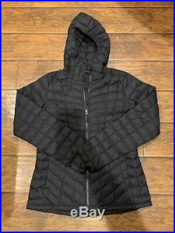The North Face Women's Thermoball Hoodie Jacket Color Black Size Large
