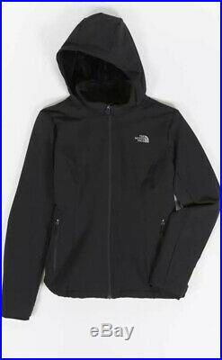 The North Face Womens Shelbe Raschel Hoodie Black Hike Jacket Size XXL