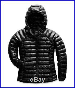 The North Face Womens Summit Serie L3 Down Hoodie Puff Jacket Black Large L NWT