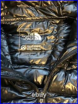 The North Face Womens Summit Series Down Hoodie Black Jacket Medium £360RRP