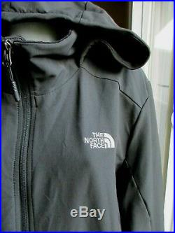 The North Face XXL Womens Black Shelbe Raschel Hoodie Plush Lined Jacket Stretch