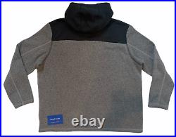 The North Face (gordon Lyons) Hoodie Full Zip Grey Black Mens Sz 3xl New Nwt