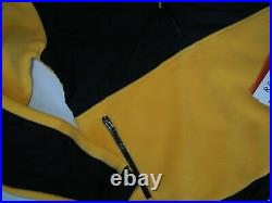 The North Face men's Denali Anorak Pullover Yellow Fleece Hoodie size Small $179