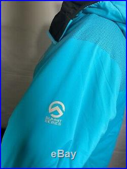 The North Face women's summit series L3 ventrix bluebird hoodie size L/G