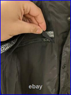 The North face Mens 92 Retro RAGE Collection Rain Jacket In TNF Black XL Rare