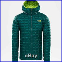 The north face thermoball jacket hoody botanical garden green giacca piumino new