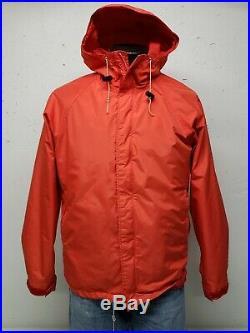 VTG 80's The North Face Gore Tex Hoodie Jacket USA Brown Label Men's Medium
