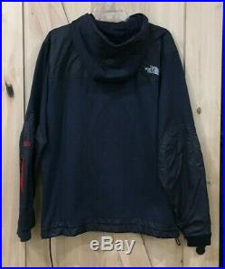 Vintage Rare The North Face Steep Tech Heavy Hoodie Sweatshirt Jacket Blue 4XL