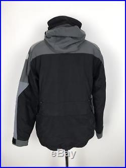 Vintage THE NORTH FACE Womens STEEP TECH Jacket 550 Down Fill Medium M Grey