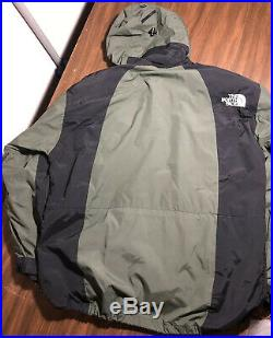 Vtg North Face Summit Series Gore-tex XCR Mountain Parka Green Men's Size Large