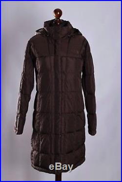 Women S The North Face Winter Puffer Long Hooded Coat Jacket Size M